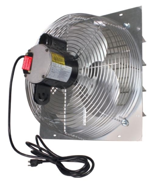 shutter exhaust fan pre wired