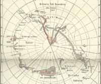 Gesamtkarte der Antarktis