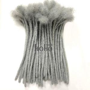 dreadlocks extensions grey