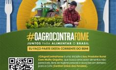 Movimento Sou Produtor Rural com Muito Orgulho lança Campanha #OAgroContraFome em parceria com CUFA