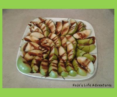 Healthy-ish Apple Nachos