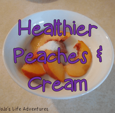 "Healthier Peaches and ""Cream"""