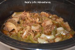 Easy Crock Pot Beef Fajitas
