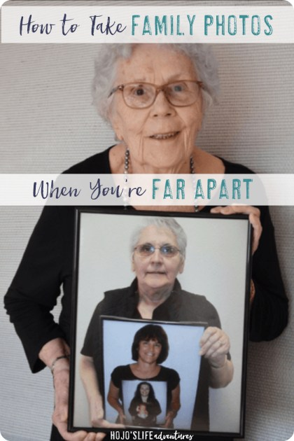 Do you have family that lives far apart? It doesn't have to be hard to get a multiple generation photo. See how this family made it work even though they lived on different continents.