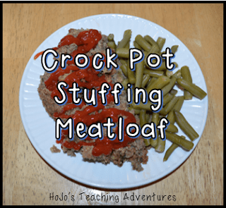 Crock Pot Stuffing Meatloaf