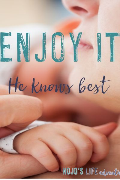 Enjoy It – He Knows Best