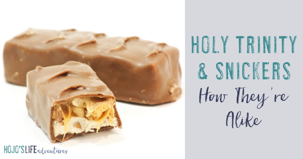 Do you struggle understanding the Holy Trinity? Thinking of the Father, Son, and Holy Spirit as one can be daunting. But this post will explain it in the easiest way possible - by comparing it to a Snickers candy bar!