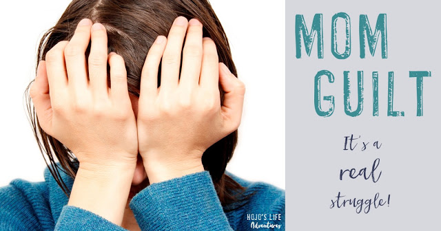 At some point or another every mom is going to deal with it - mom guilt! Find out this mom's story here!