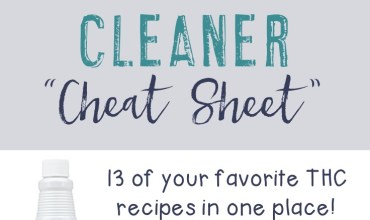 Thieves Household Cleaner Cheat Sheet