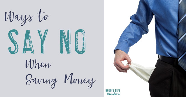 Saving money is hard! Telling people no to certain activities when you're saving money can be even harder. Here are five ways to tell others no to keep you on the financial path you set for yourself!