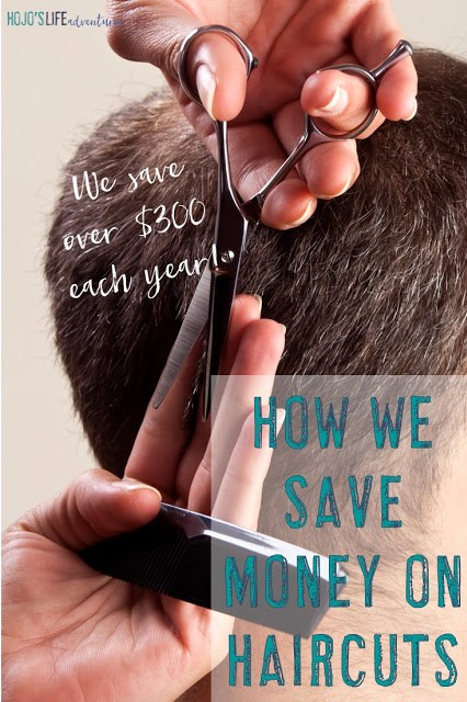 Looking for ways to save money? Find out one family of three saves over $300 a year on haircuts! Here's how we save money on haircuts each year.