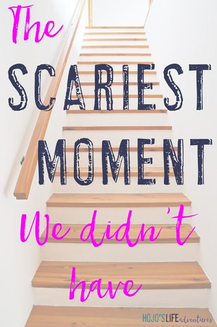 Sometimes the scariest moments are those which do not happen at all! Find out what I mean...