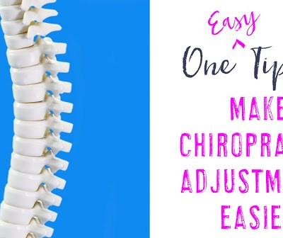 One Easy Step to Make Chiropractic Adjustments Easier
