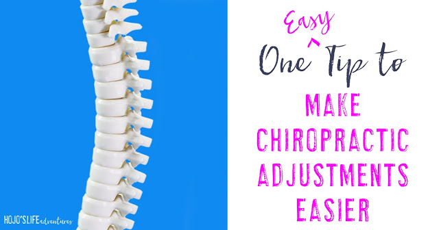 Are you in pain at every chiropractor appointment? Do you not know how to lessen it? Then try this one easy step to make chiropractic adjustments easier!