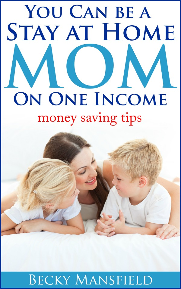 Are you a stay at home mom trying to make it work on one income? Or perhaps you want to be a SAHM? Either way - this ebook is FULL of tips and ideas to help you accomplish just that! Click through to learn more!