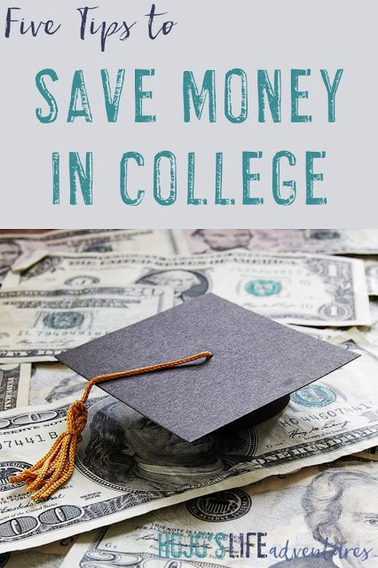 Here are five tips to help you save money in college from someone who learned the hard way!
