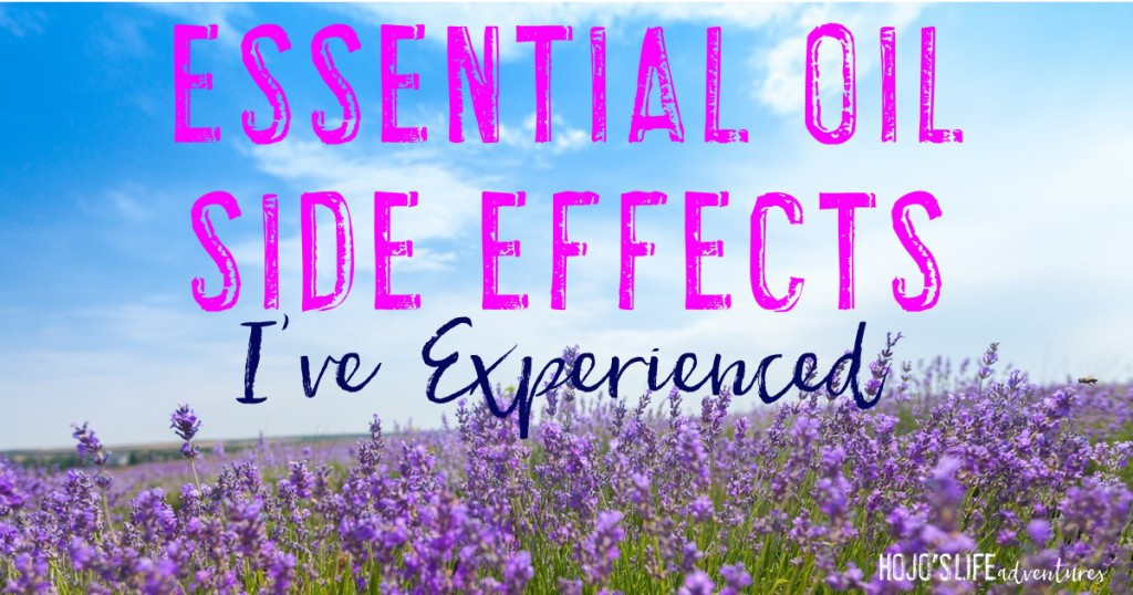 There is so much information about essential oils out there. Are they safe? Are they good for you? Who can use them? Many times you hear about the side effects. Today I wanted to take a moment to share the seven essential oil side effects I've experienced. Click through to learn all about them.
