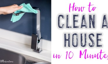 How to Clean a House in 10 Minutes