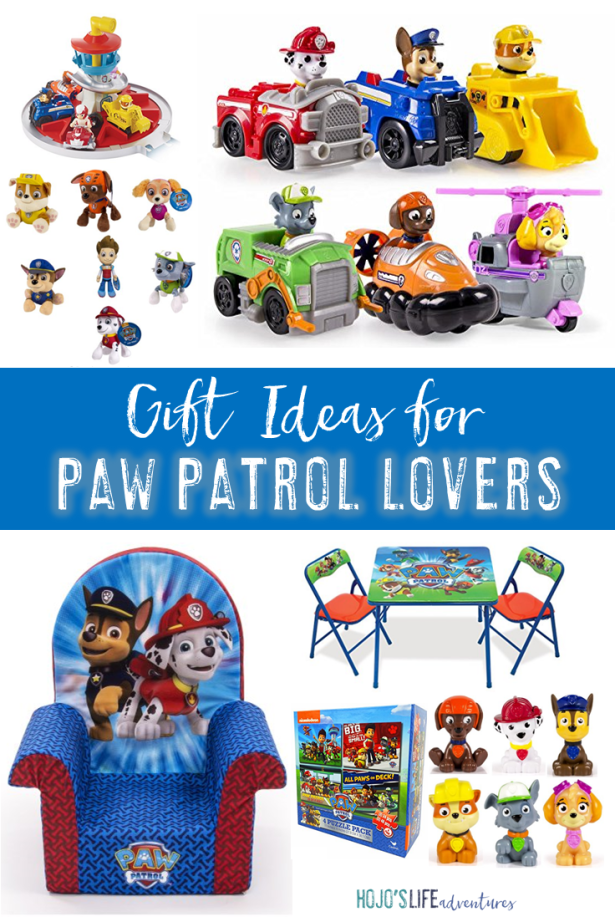 On the lookout for Paw Patrol gift ideas for your puppy lover? Then you're going to love this list! See ten great Paw Patrol gifts from a mom with an obsessed son! These are great for birthdays, Christmas, or just any time you want to give a gift to someone you love! Check them out now!!
