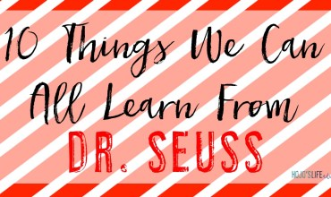 10 Things We Can All Learn From Dr. Seuss