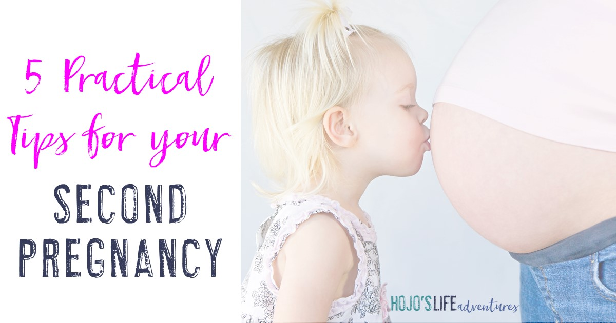 Here are five practical tips for your second pregnancy from a mom who's been there! Everyone has a voice in what you should and shouldn't do while pregnant, but only other moms know the REAL things you should be worrying about - especially with #2!