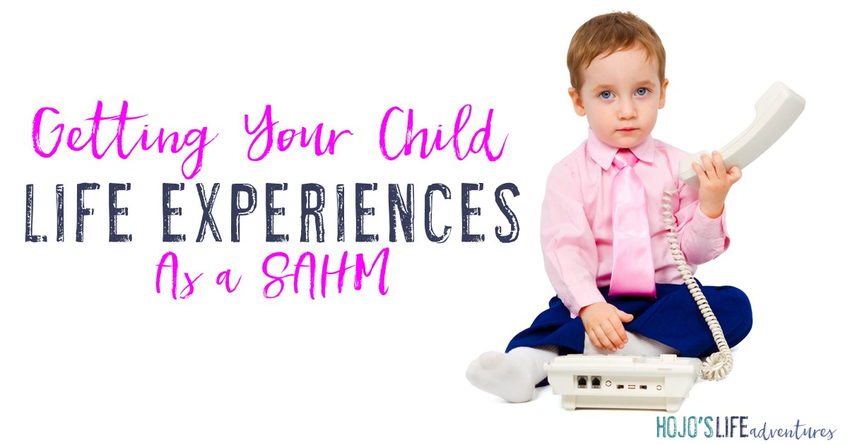 Getting your child life experiences as a stay at home mom can be a challenge! But with the great ideas in this article, you'll feel better equipped to get your children out, about, and ready to take on the world!