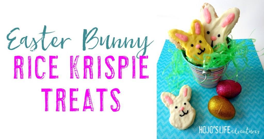 Looking for a fun activity for March or April? You're going to love this spring or Easter bunny rice krispie treats! They're great for kids (and even those who are young at heart). Plus you probably have all of the ingredients on hand. Get started with this easy, fun recipe today!