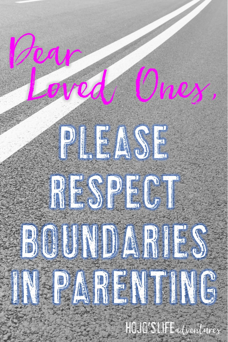 Do you respect boundaries in parenting? Many people don't even realize they are upsetting their family and friends with their comments. But this post will shed light on what you're saying and doing that may be undermining those around you. Click through to learn what NOT to do and what to try instead.