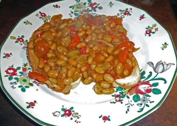 Balti Baked Beans