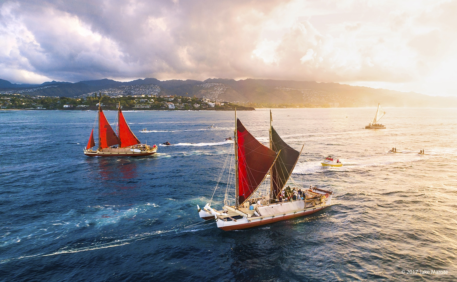H K Le A The M Lama Honua Worldwide Voyage Continues Into