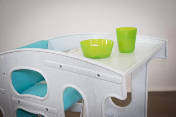 Hokus Pokus - Table with food & drink - High Chair Rocker Table - Hokus Pokus - 3 in 1 Highchair -