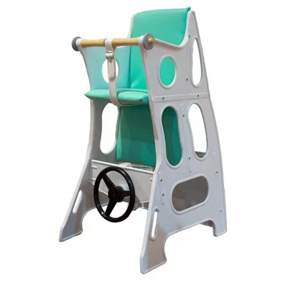 Marble – Mint Green Hokus Pokus Swedish High Chair 3 in 1 Rocking Chair Table Highchair