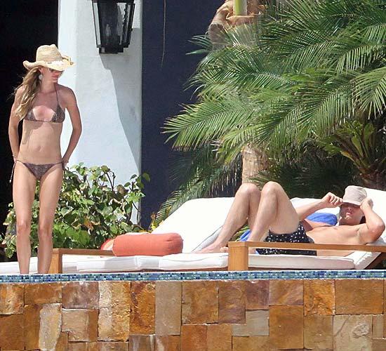 Gisele Bündchen y Tom Brady, de vacaciones en México