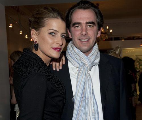 Nicolás y Tatiana de Grecia