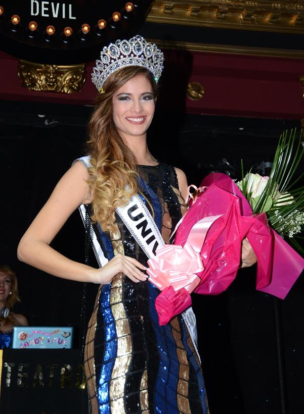 La Representante Espaola A Miss Universo 2014 Sale Con El