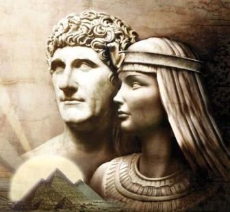 Resultado de imagen de cleopatra y marco antonio