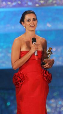 Penélope Cruz gana el David de Donatello, el Óscar del cine italiano