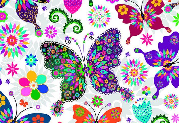 Qué Significan Los Mandalas Con Mariposas