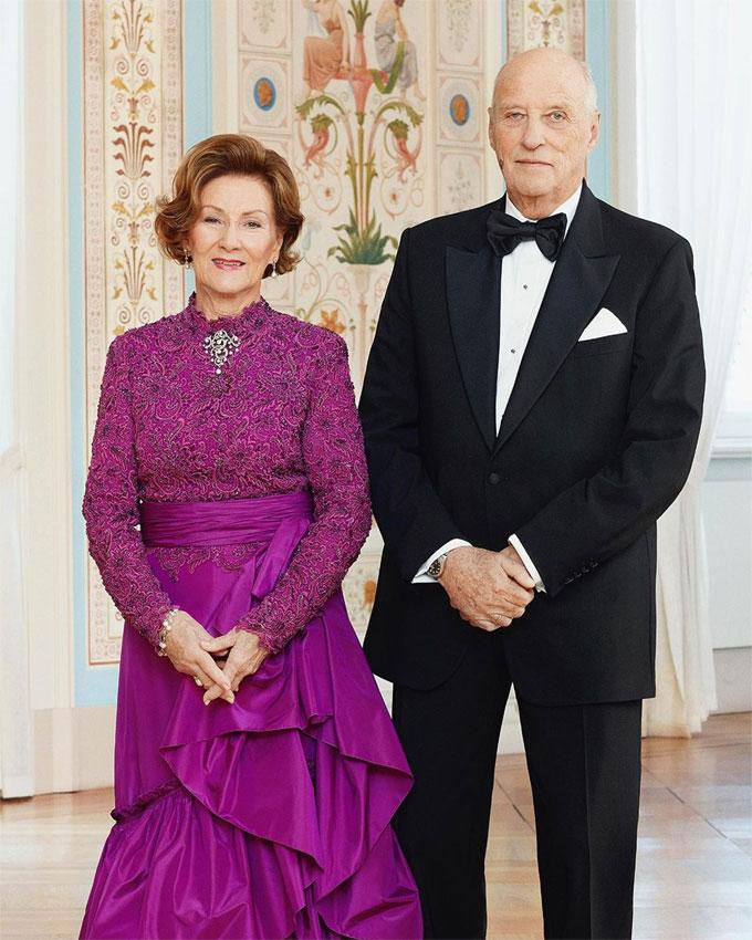 Harald y Sonia de Noruega