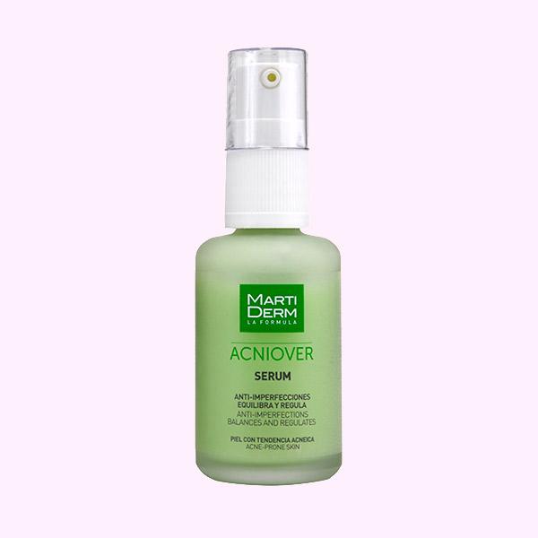 Serum moisturizing fluid texture