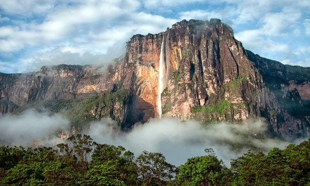 El Salto del Ángel, la catarata más alta del mundo tiene… ¡1 kilómetro! - Foto 1