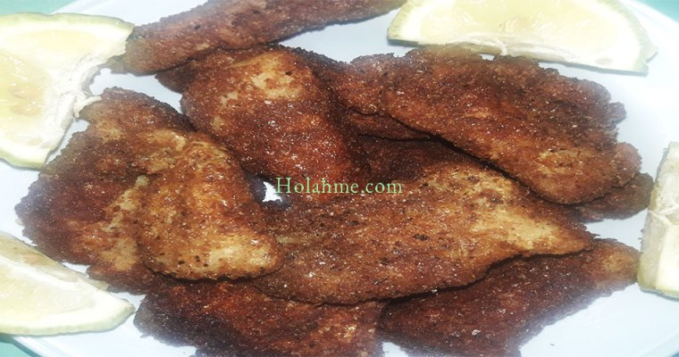 SOY SAUCED FISH FINGERS