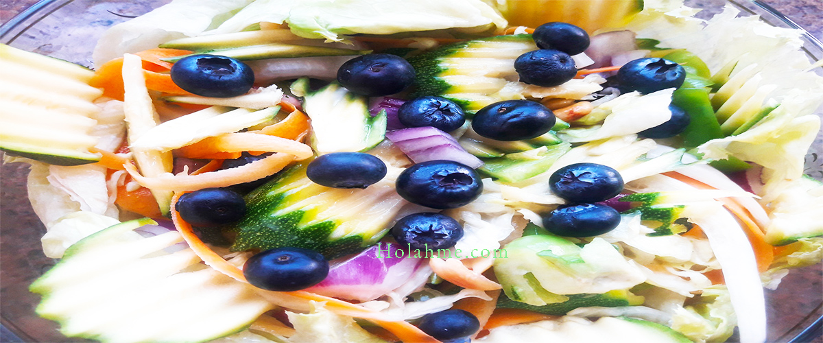 NUTTY BLUEBERRY VEGETABLE SALAD