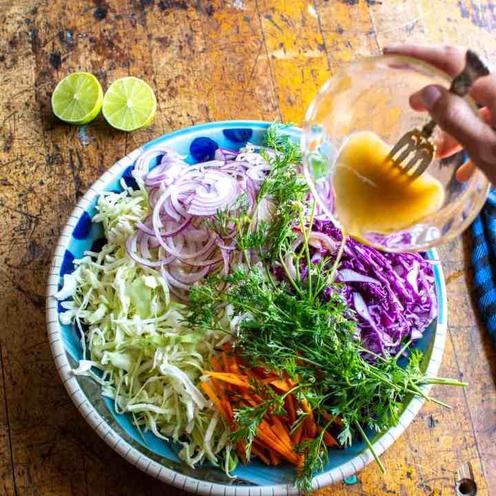 Cilantro-Lime Coleslaw Recipe