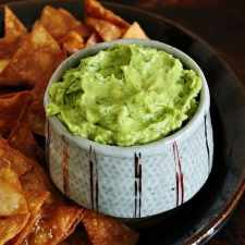 This recipe will teach you how to make guacamole with 6 simple ingredients, plus how to make homemade tortilla chips. Both are so simple and delicious!