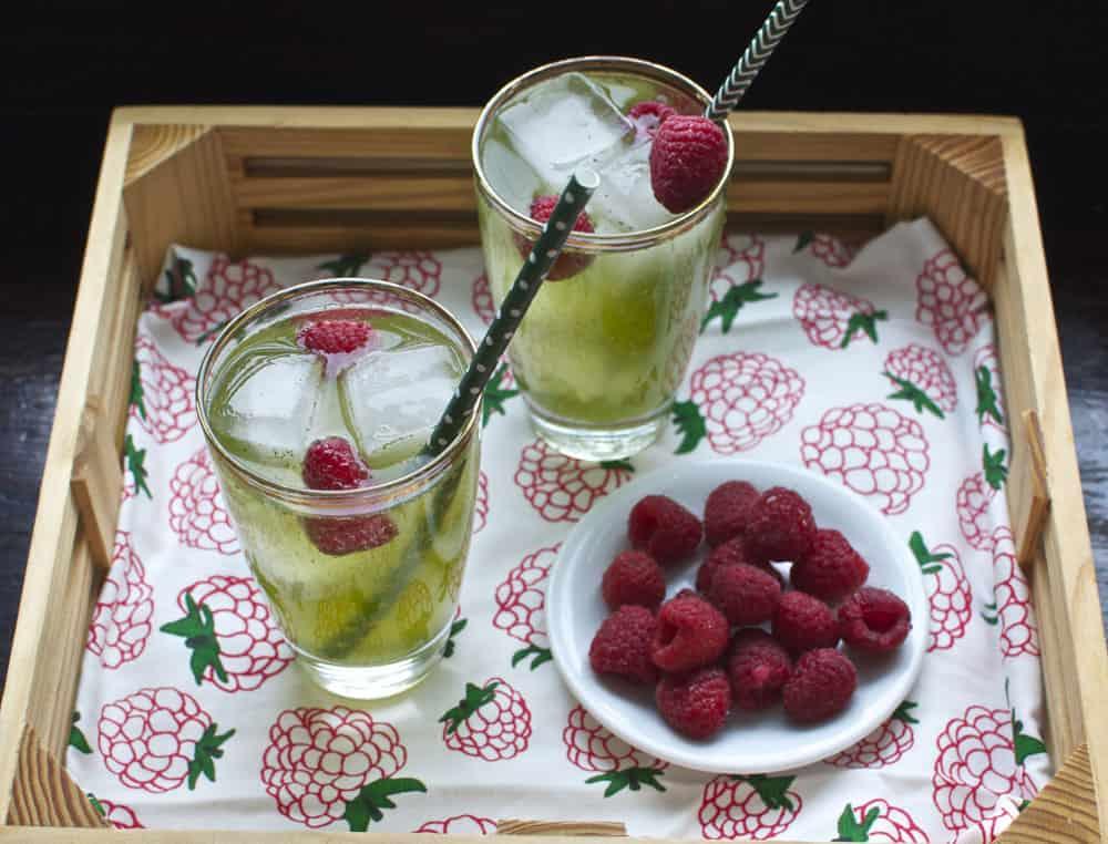 Ginger Mint Cooler {St. Patrick's Day Drink}