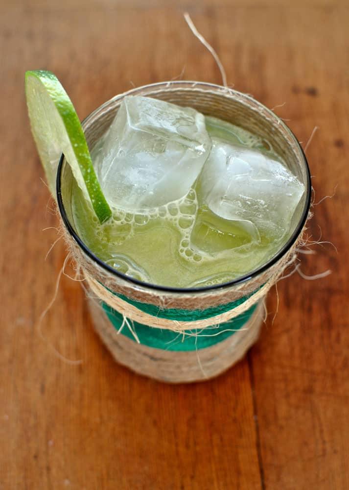 Mango Lime Agua Fresca Hola Jalapeno
