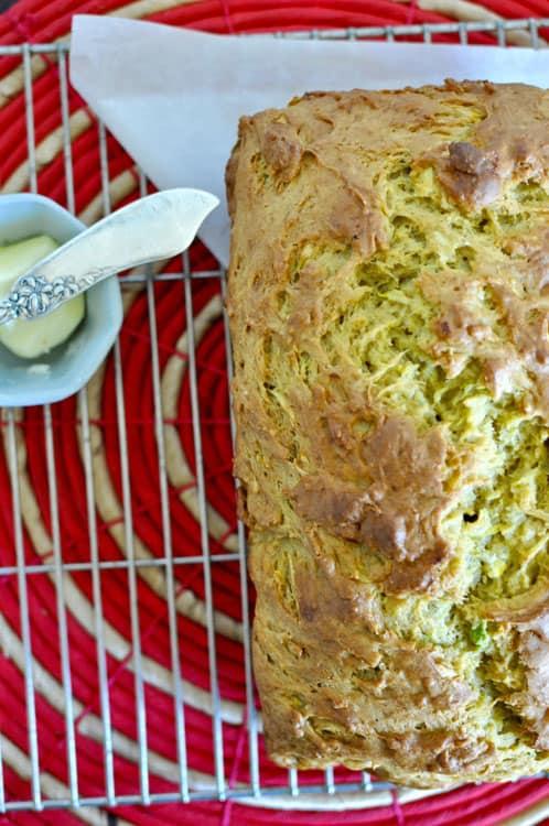 Zucchini Bread with Avocado