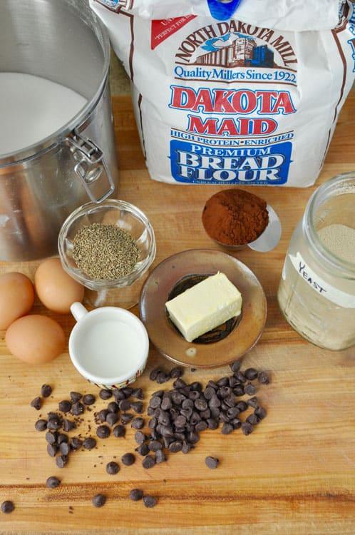 Ingredients for Pan