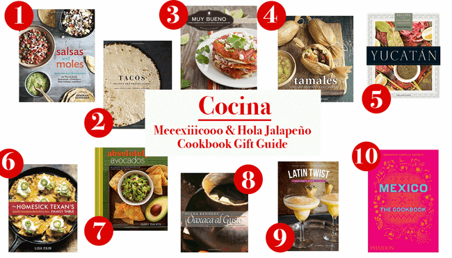 Mexican Cookbook Gift Guide + Big News | ¡HOLA! JALAPEÑO